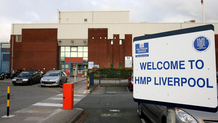 HMP Liverpool which has squalid living conditions