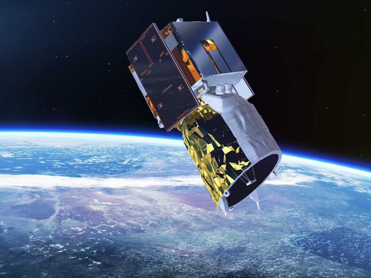 ESA's Aeolus wind satellite is lofted into orbit on a Vega rocket from Europe's Spaceport in French Guiana. The Vega rocket is 30 m high, topped by the Attitude Vernier Upper Module (AVUM) fourth stage, which releases the satellite into orbit. Aeolus satellite uses powerful laser technology that probes the lowermost 30 km of our atmosphere to yield vertical profiles of the wind as well as information on aerosols and clouds. This will not only improve our understanding of how the atmosphere work