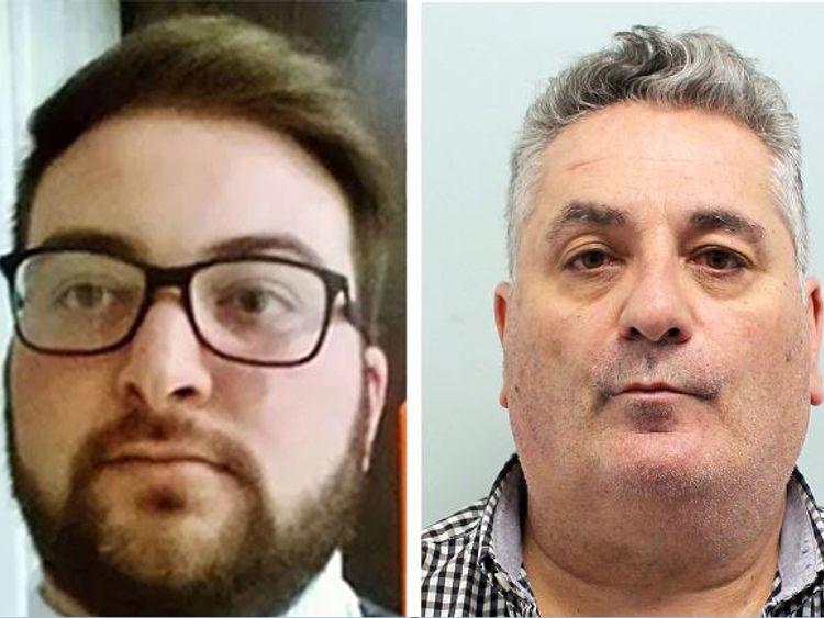 Alessandro Iembo (left) and Jose Ramon Miguelez-Botas