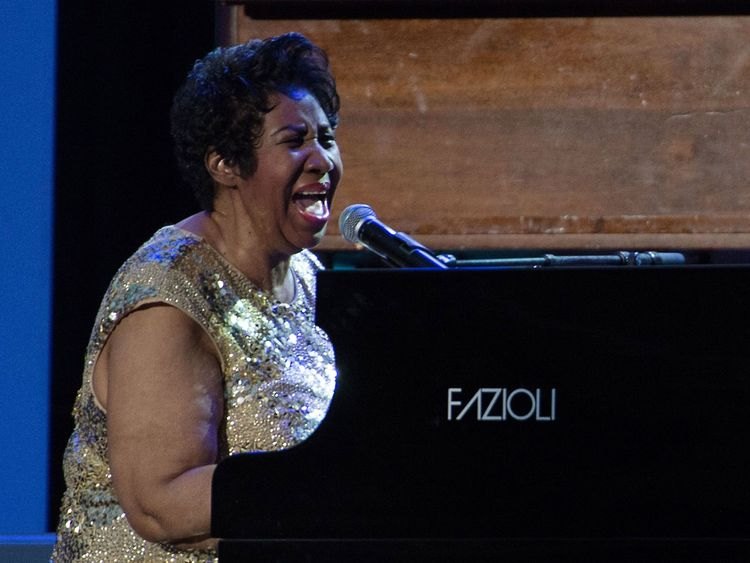 Franklin was an accomplished pianist throughout her career