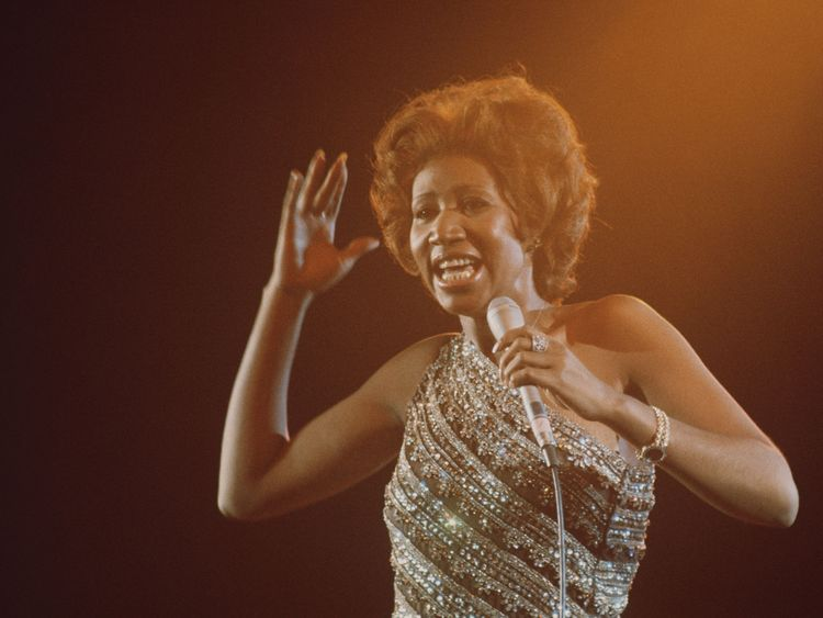 Franklin in her Lady Soul heyday in 1967