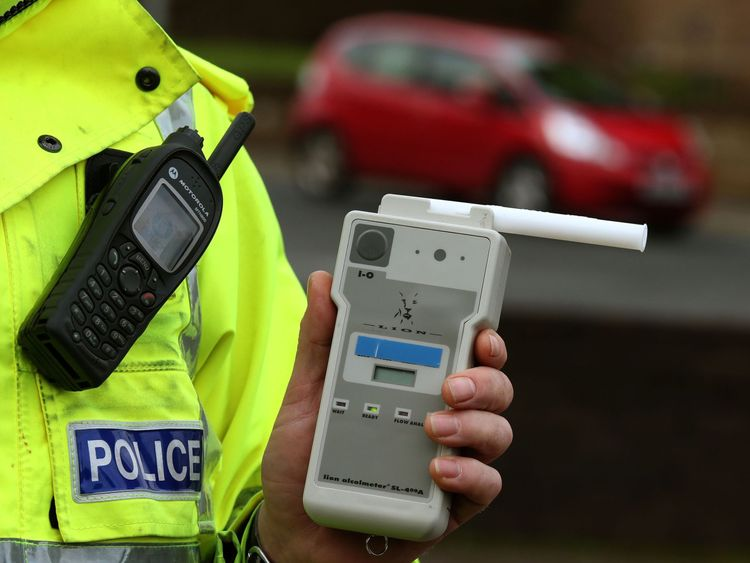 Drink-drive casualties reach four-year high