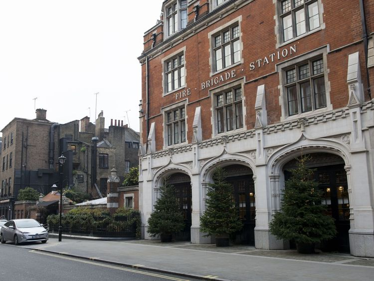 Chiltern Firehouse Hotel and Bar