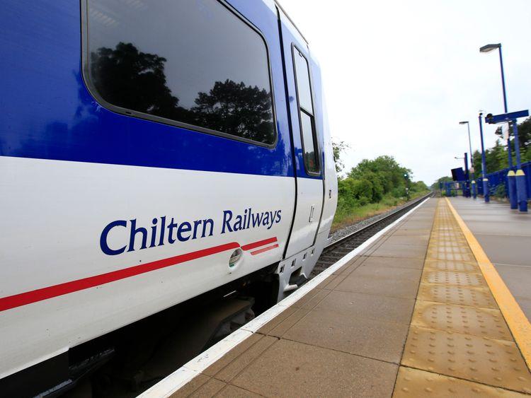 A Chiltern Railways train