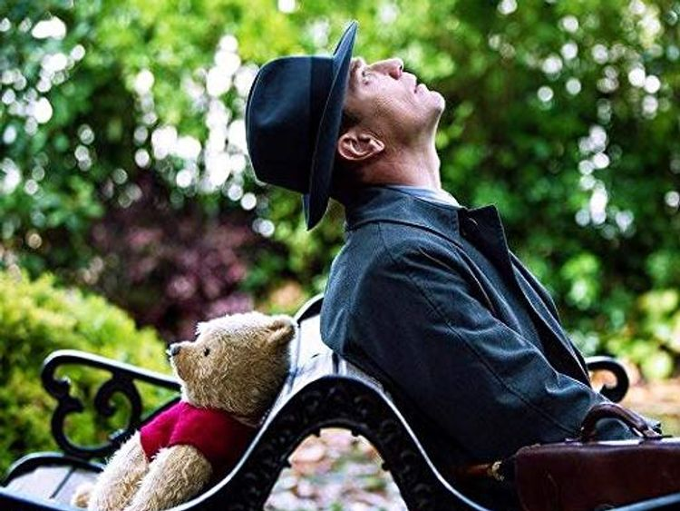 Pooh helps Christopher Robin re-discover his lust-for-life
