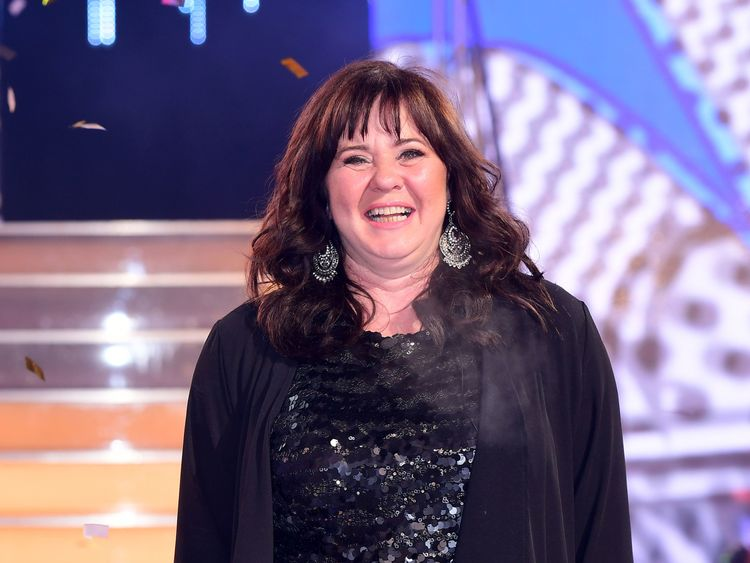 Coleen Nolan said she 'stayed as calm as possible'