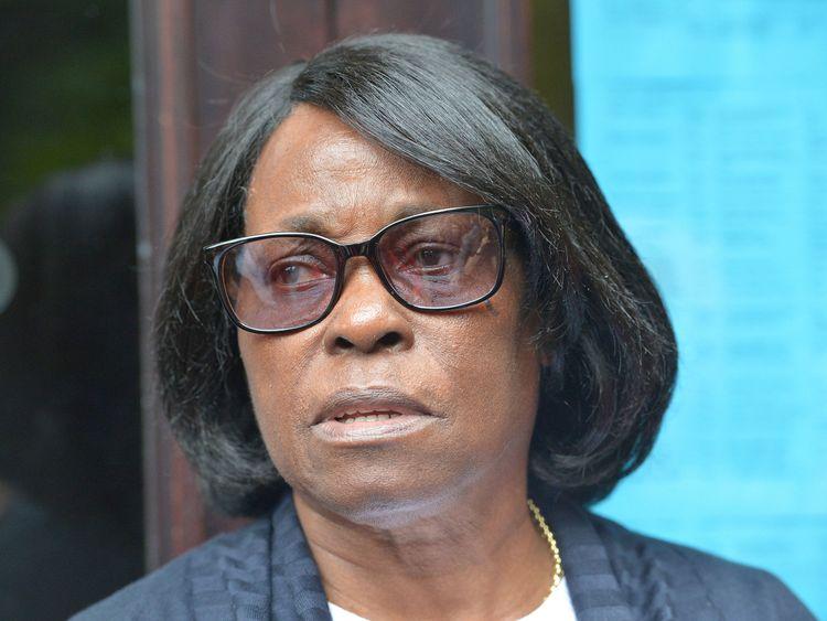 Sentina Bristol, the mother of Windrush man Dexter Bristol