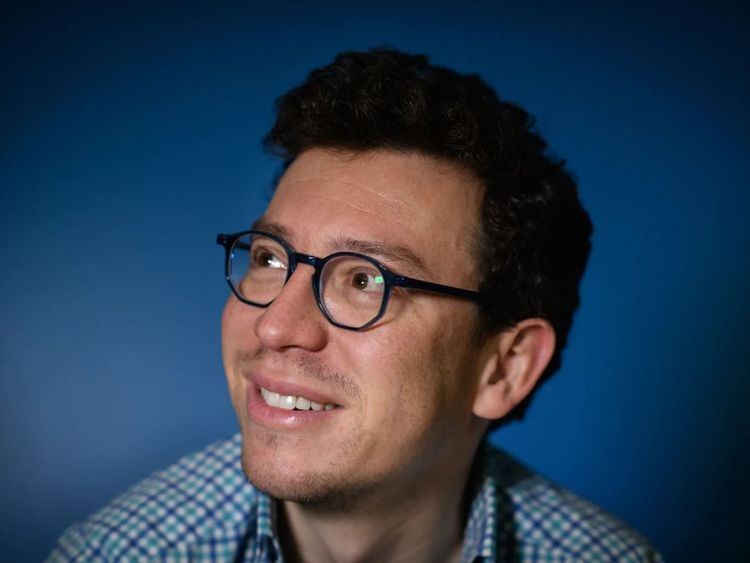 Duolingo CEO Luis von Ahn told Sky News his app saw a spike in UK sign ups