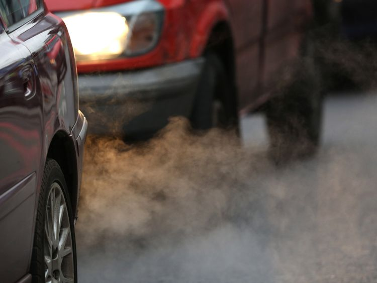 Traffic fumes are the biggest cause of pollution in cities
