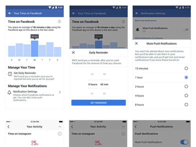 Facebook tool to tackle social media addiction