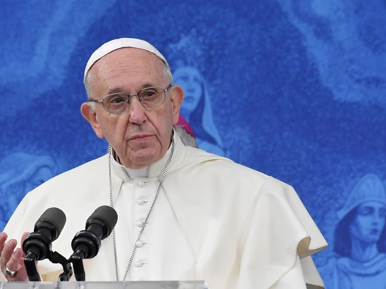 Francis described abuse committed by members of the Church in Ireland as an 'open wound'