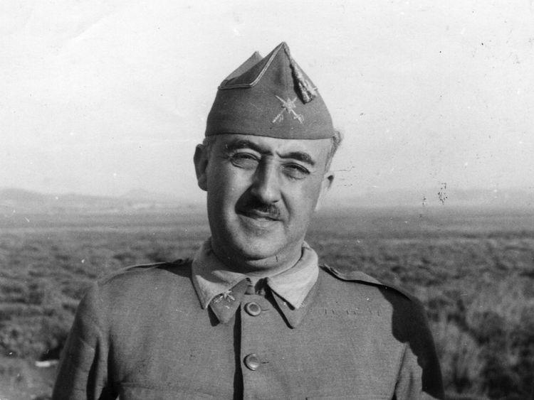 General Franco died in 1975