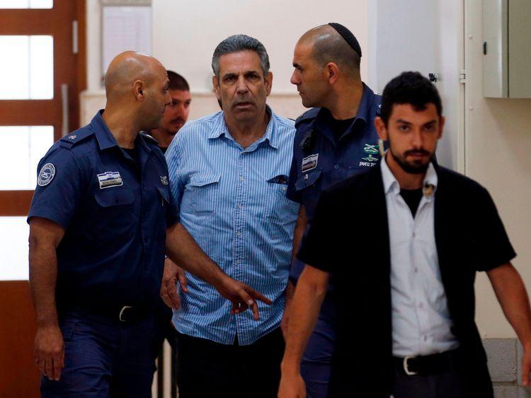 Gonen Segev was arrested on suspicion of spying for Iran