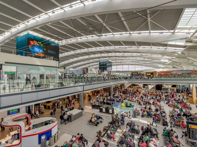 The UK has some of the busiest airports in the world