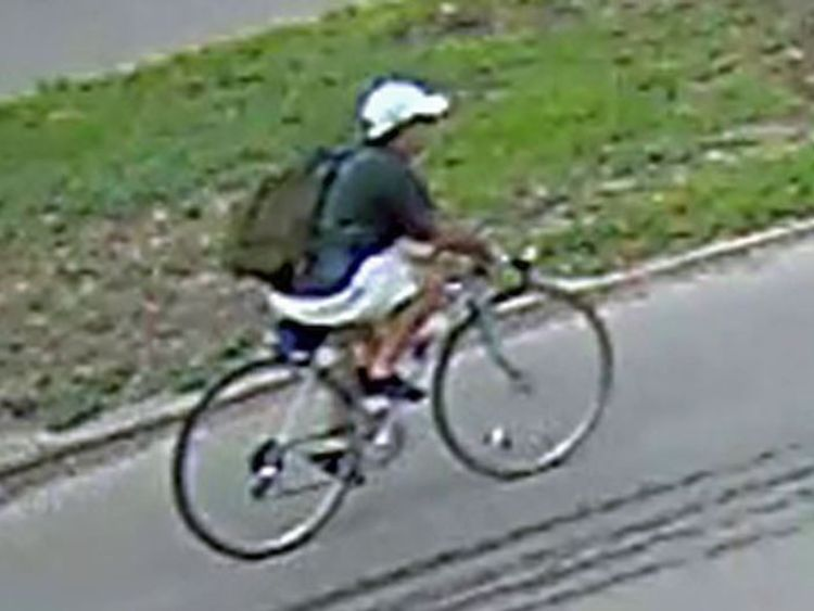 Houston Police released this CCTV image of the shooting suspect