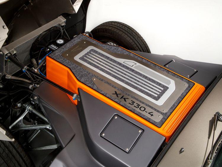 Beneath the bonnet: The concept version has a 40kWh battery. Pic: Jaguar