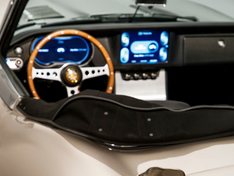 The concept car takes six to seven hours to charge. Pic Jaguar