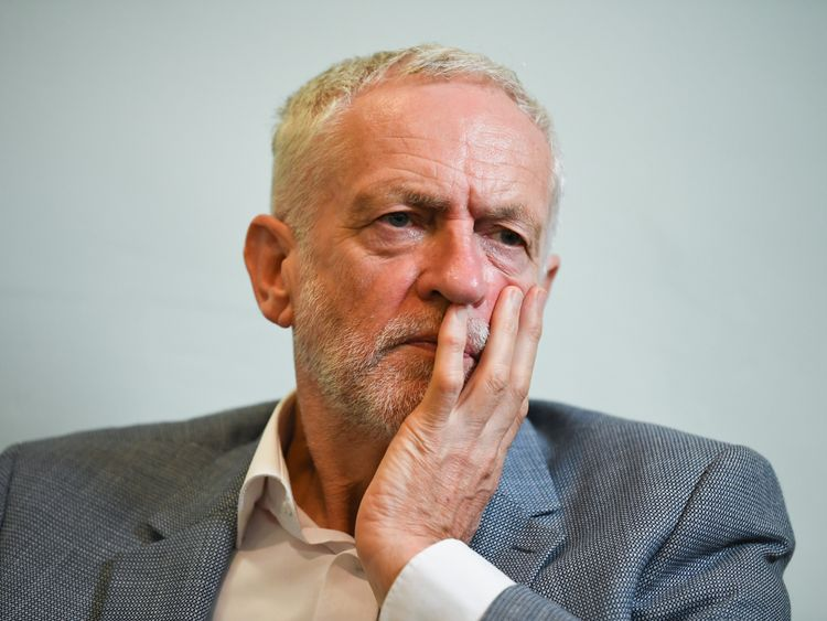Jeremy Corbyn previously said he was defending the ambassador in the comments