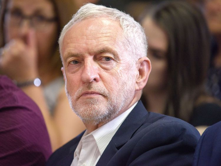 Corbyn 'compared West Bank to Nazi occupations'