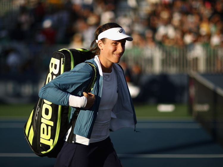 Konta said she played the match on her own terms