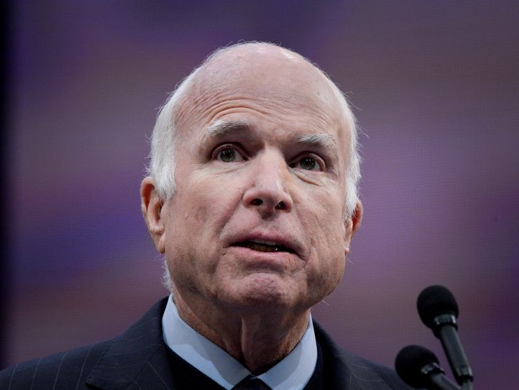 John McCain revealed he had brain cancer last year
