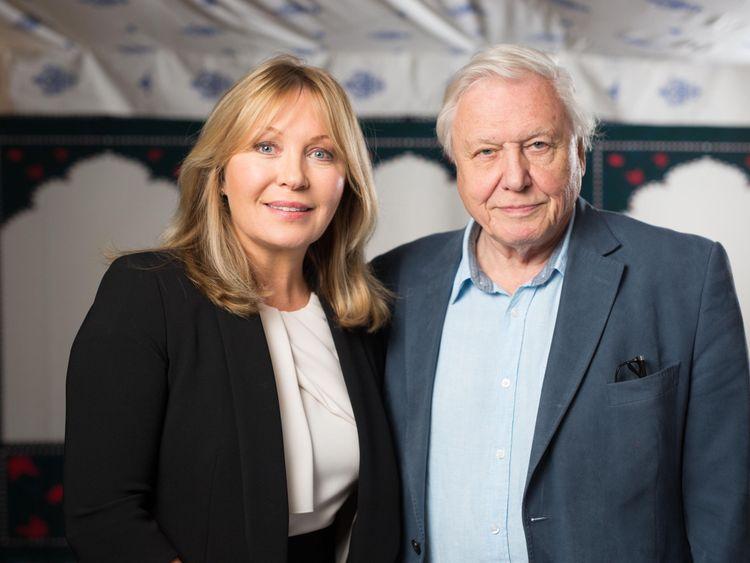 Kirsty Young and Sir David Attenborough
