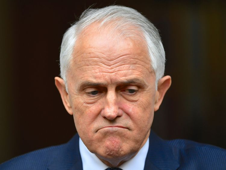 Mr Turnbull survived a leadership vote on Tuesday