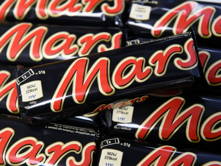 'Mars adverts should never run alongside such content', the firm said