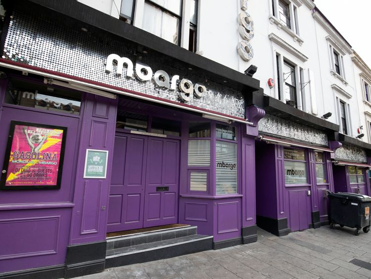 Mbargo nightclub in Bristol