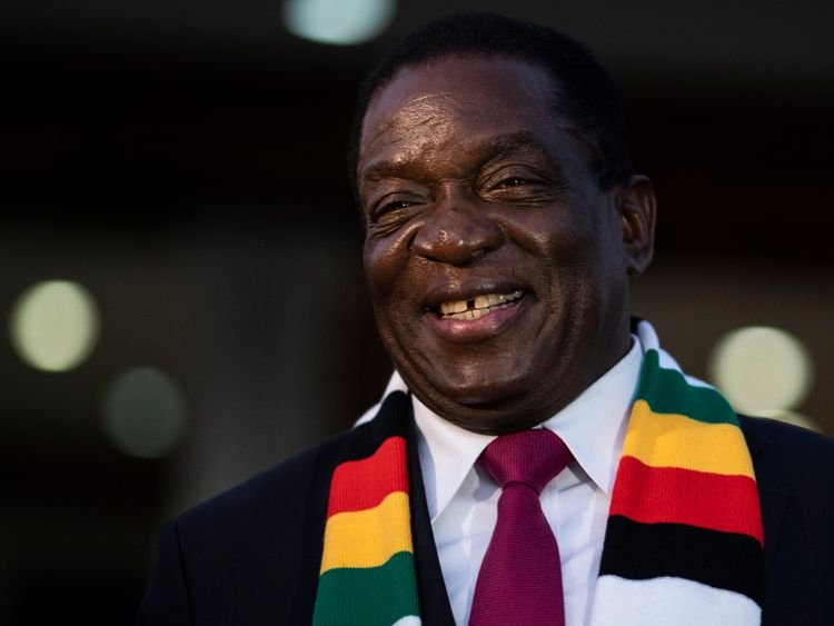Emmerson Mnangagwa says Zimbabwe's election was a 'free, fair and transparent process'