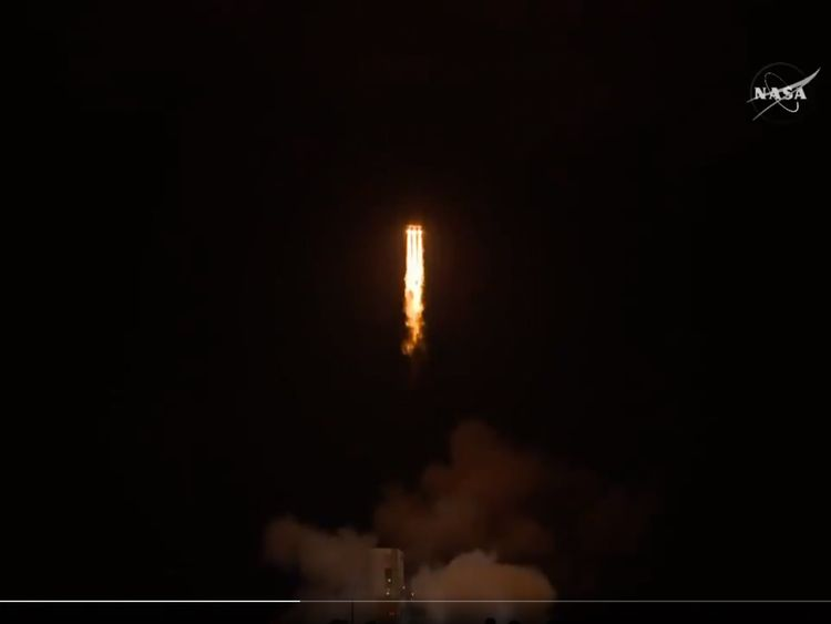 Parker Solar probe lifts off