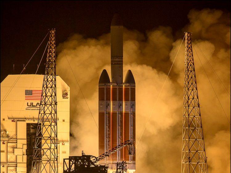 Lift off! NASA