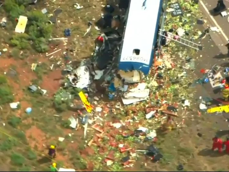 At Least 7 Dead Following Bus Crash in New Mexico