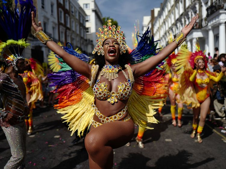 More than a million people go to the carnival every year