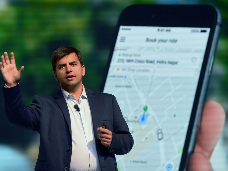 Indian Uber rival Ola launches taxi app in UK