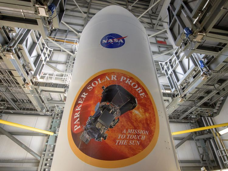NASA delays launch of probe to 'touch the sun'