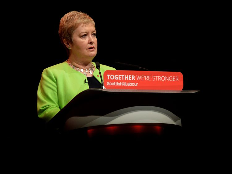Rural Economy and Connectivity Spokesperson, Rhoda Grant, speaking on the second day of the Scottish Labour Party Conference at the Perth Concert Hall. PRESS ASSOCIATION Photo. PRESS ASSOCIATION Photo. Picture date: Saturday February 25, 2017. See PA story POLITICS Labour. Photo credit should read: Mark Runnacles/PA Wire