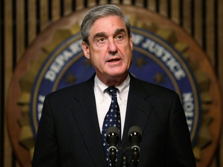 Special Counsel Robert Mueller is heading up the Russia probe in possible collusion