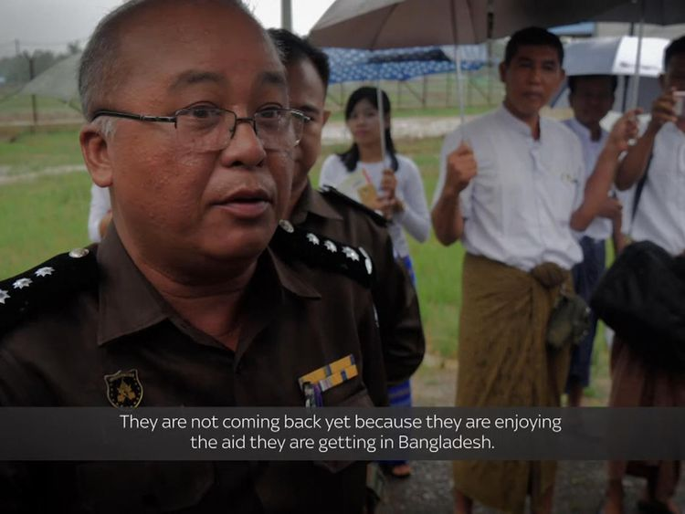 Immigration director, U Win Khine, says the centre had not processed any repatriated Rohingya refugees since it opened in January
