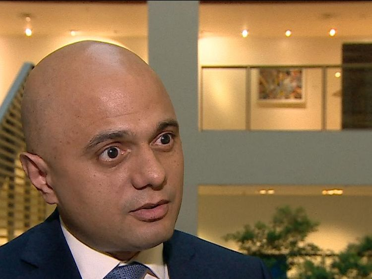 Home Secretary Sajid Javid MP thanks the emergency services and says his thoughts are with the injured, following the car attack.