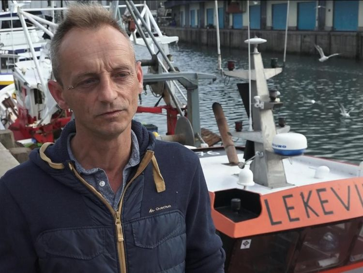 Stephane Le Francois the encounter with British fishermen was very scary