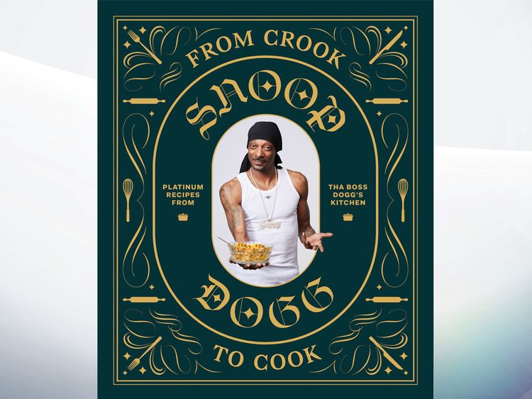 The cover of Snoop Dogg's first cookbook