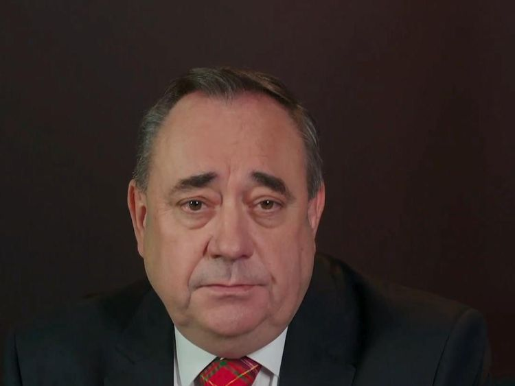 Sturgeon's 'sadness' as Salmond resigns after harassment claims