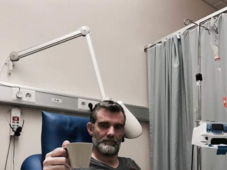Stefan posted details of his treatment on social media Instagram/Stefán Karl Stefánsson