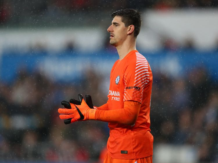Chelsea goalkeeper Thibaut Courtois is trying to force a move to Real Madrid