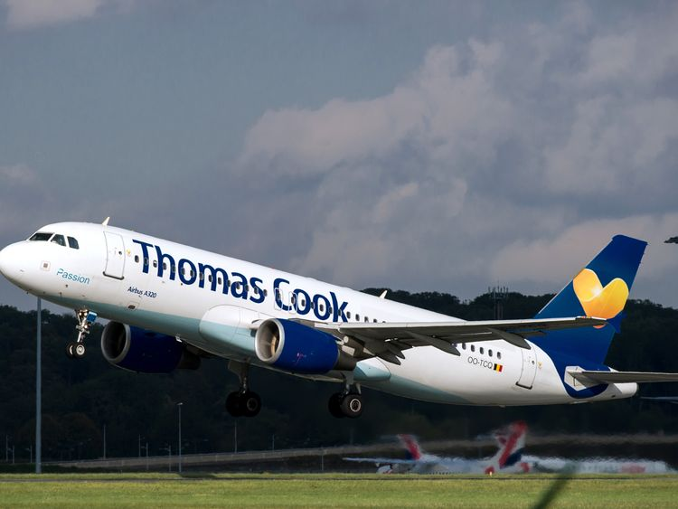 Thomas Cook was among the worst performing UK airlines