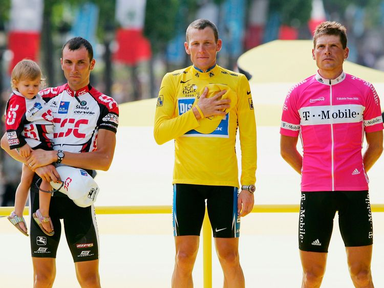 Ullrich was one of Lance Armstrong's main rivals