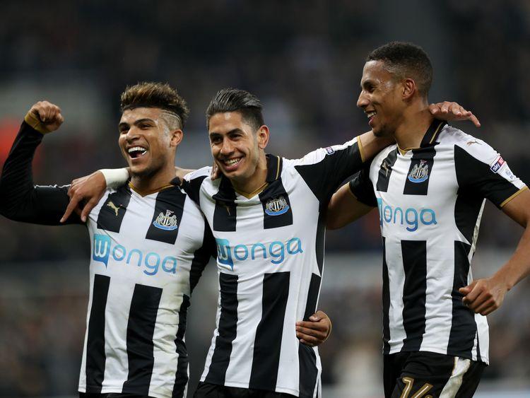 Wonga used to sponsor Newcastle United