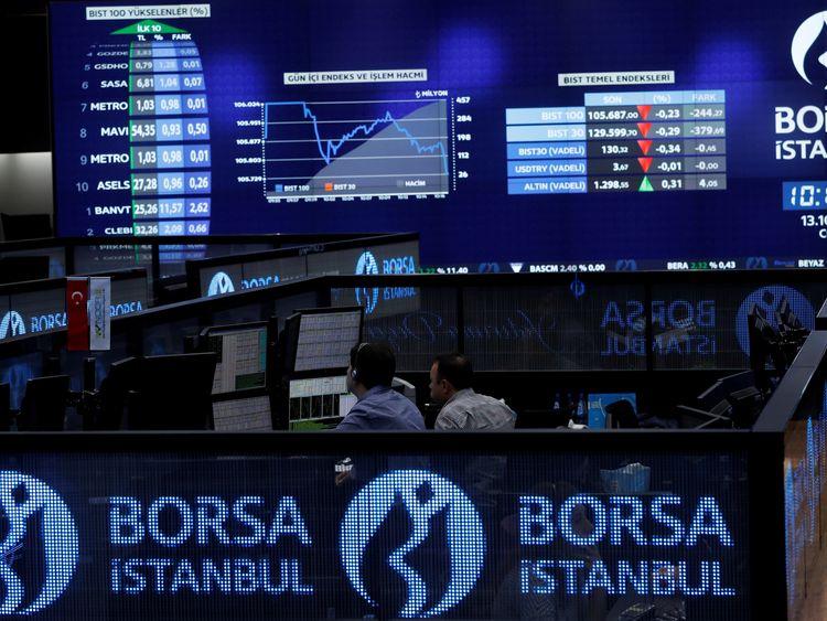 The Borsa Istanbul stock exchange