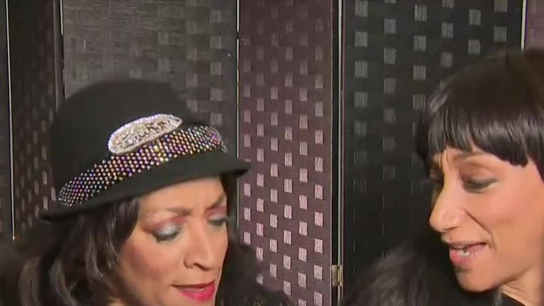 Sledge sisters pay tribute to Aretha Franklin